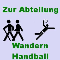 Zur Abt. Handbal/Wandern